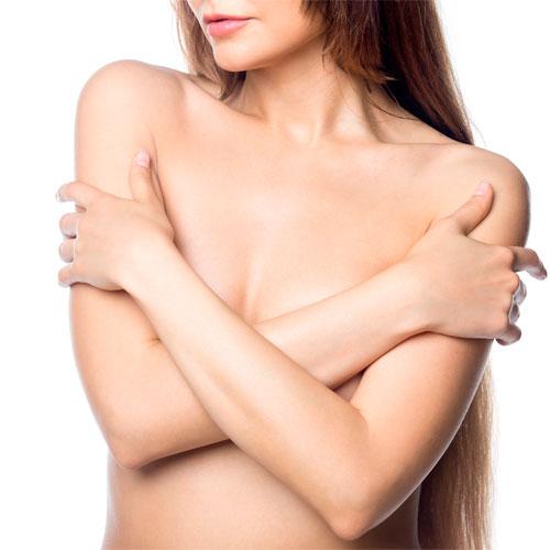 Подтяжка груди и увеличение груди имплантами